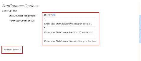 StatCounter option