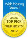 Top Pick Web Host 2012