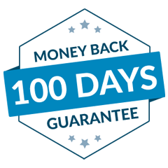 100 Day Money Back Guarantee Badge