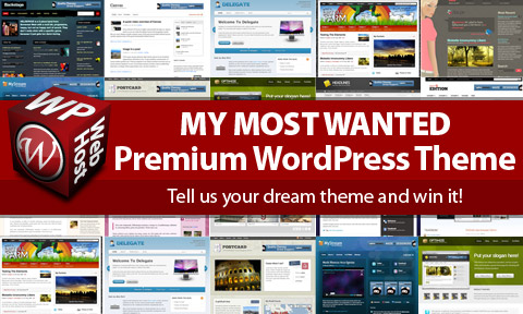 Premium WordPress Theme Giveaway