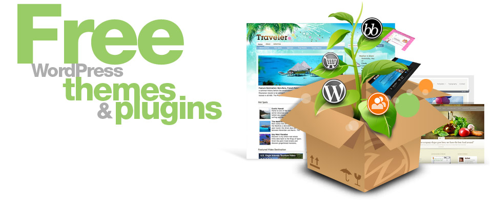 Free WordPress Hosting Themes and Plugins