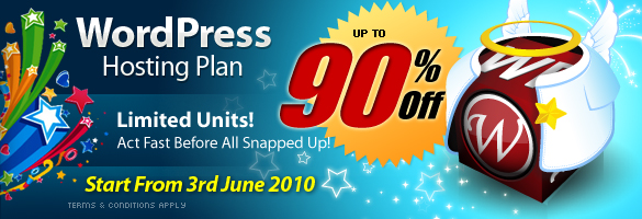 WPWH Promotion 90% Discount For WPWebHost