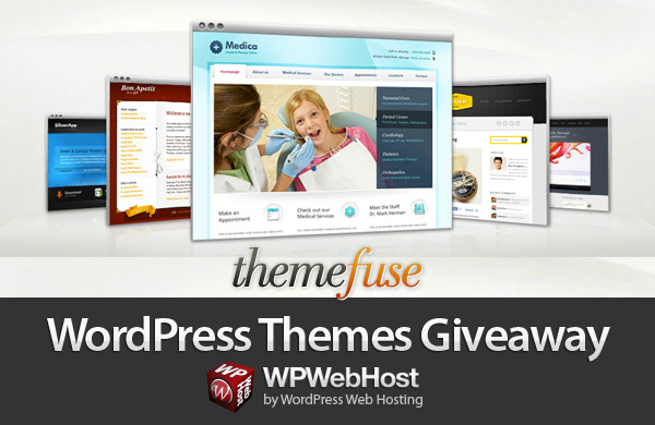Themefuse Giveaway from WordPress Hosting provider by WPWebHost