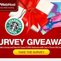 Survey Giveaway 2012 : Winner Announced