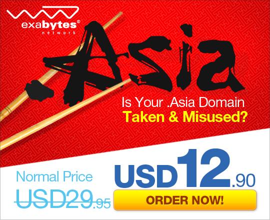 .Asia Domain Exabytes US