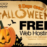 3 Days Promo Free Web Hosting by Exabytes