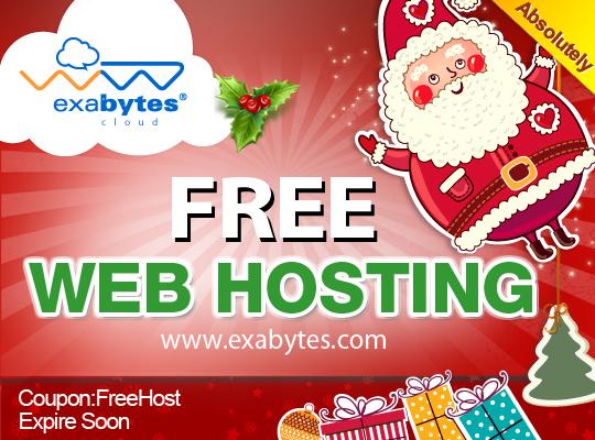 Exabytes Free Web Hosting