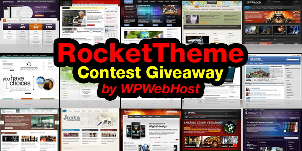 RocketTheme giveaways