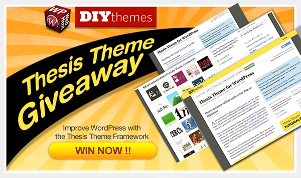 thesis theme by diythemes The thesis theme for wordpress by diythemescom is one of the most famous themes in the market thesis theme coupon available for discount prices.