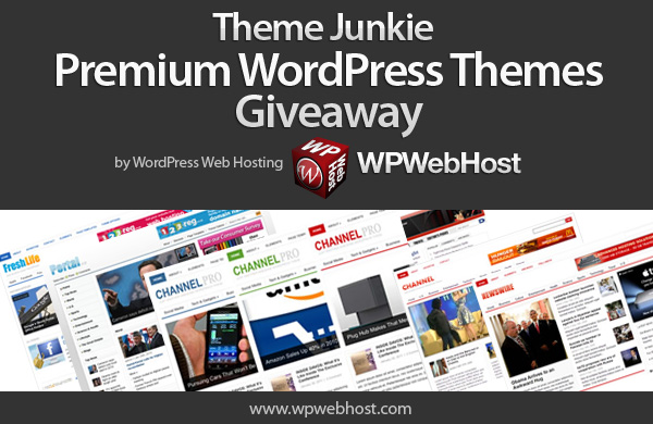 Theme Junkie Premium WordPress Themes Giveaway : Winner Announced