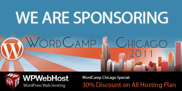 We are sponsoring WordCamp Chicago 2011