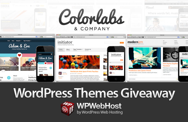Tweet and Win ColorLabs & Company Themes Giveaway by WPWebHost