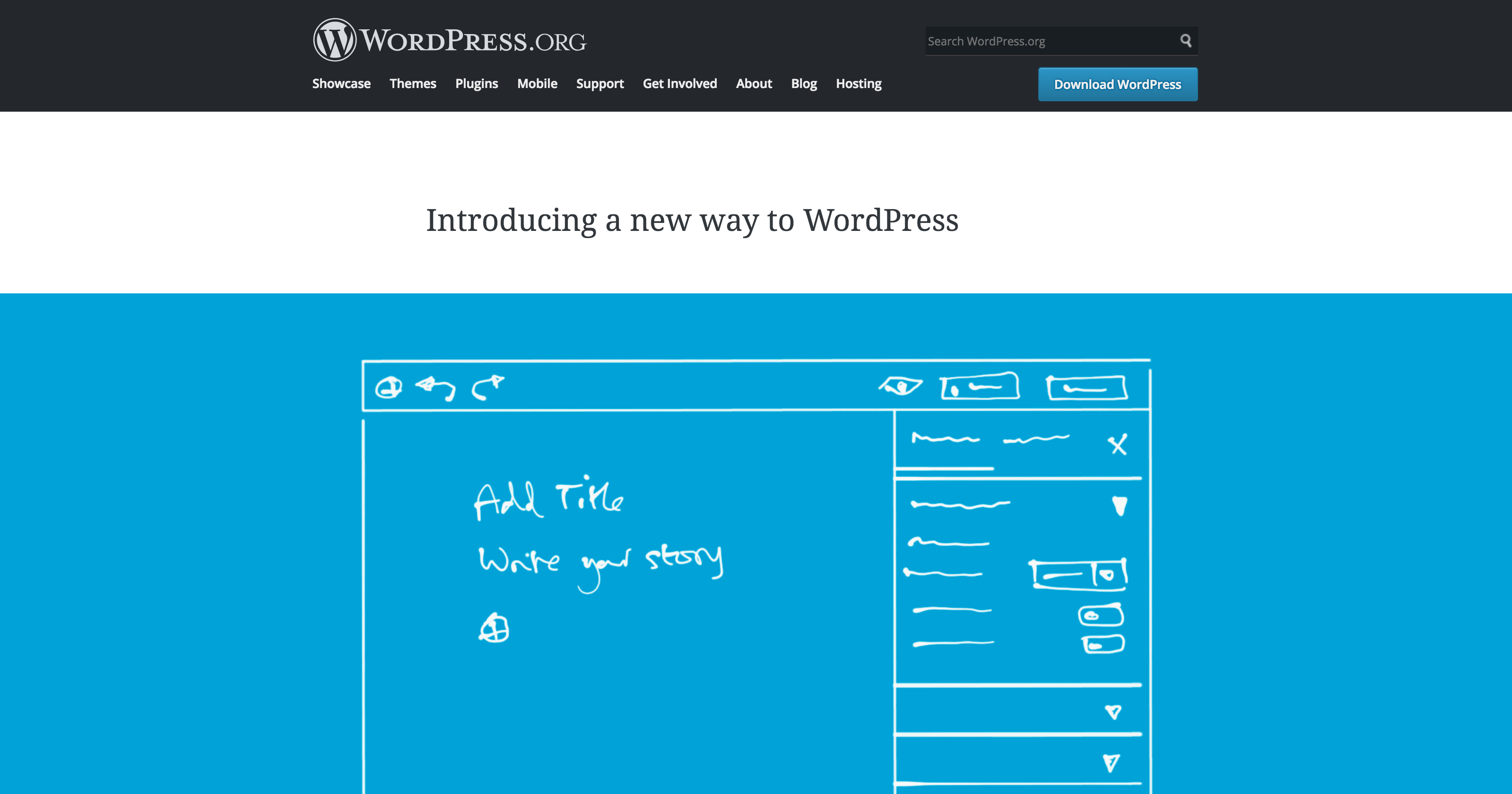 The home page for the Gutenberg project.