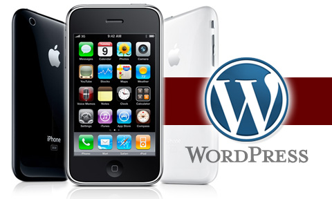 WordPress 2 iPhone App Hits Apple App Store!