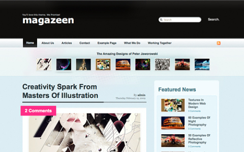 Pros and Cons of Magazine-style Theme