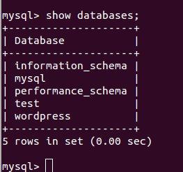 Using MySQL Command Line for Managing WordPress Database