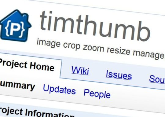 Timthumb Security Update