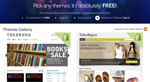 Introducing Tokokoo, the WordPress E-commerce theme developers