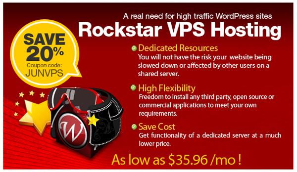 VPS Hosting by WPWebHost