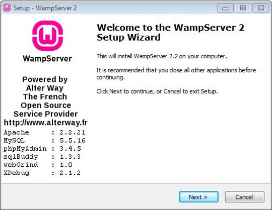 Install WordPress on WampServer