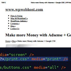 Create a print friendly WordPress website